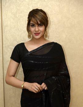 Sakshi Chaudhary at Suvarna Sundari Movie Trailer Launch