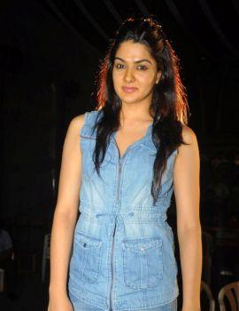 Sakshi Chaudhary Stills at Potugadu Movie Team Interview
