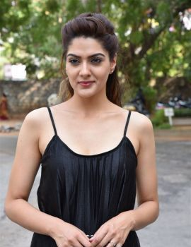 Sakshi Chaudhary Stills at Suvarna Sundari Movie Pre Release