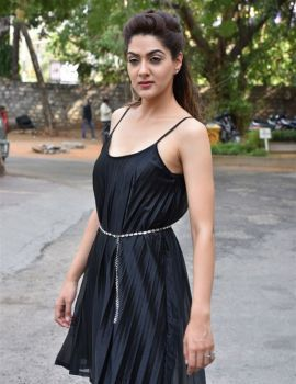Sakshi Chaudhary Stills at Suvarna Sundari Movie Pre Release