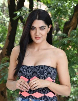 Telugu Actress Sakshi Chaudhary Latest Photos at Selfie Raja Promotion