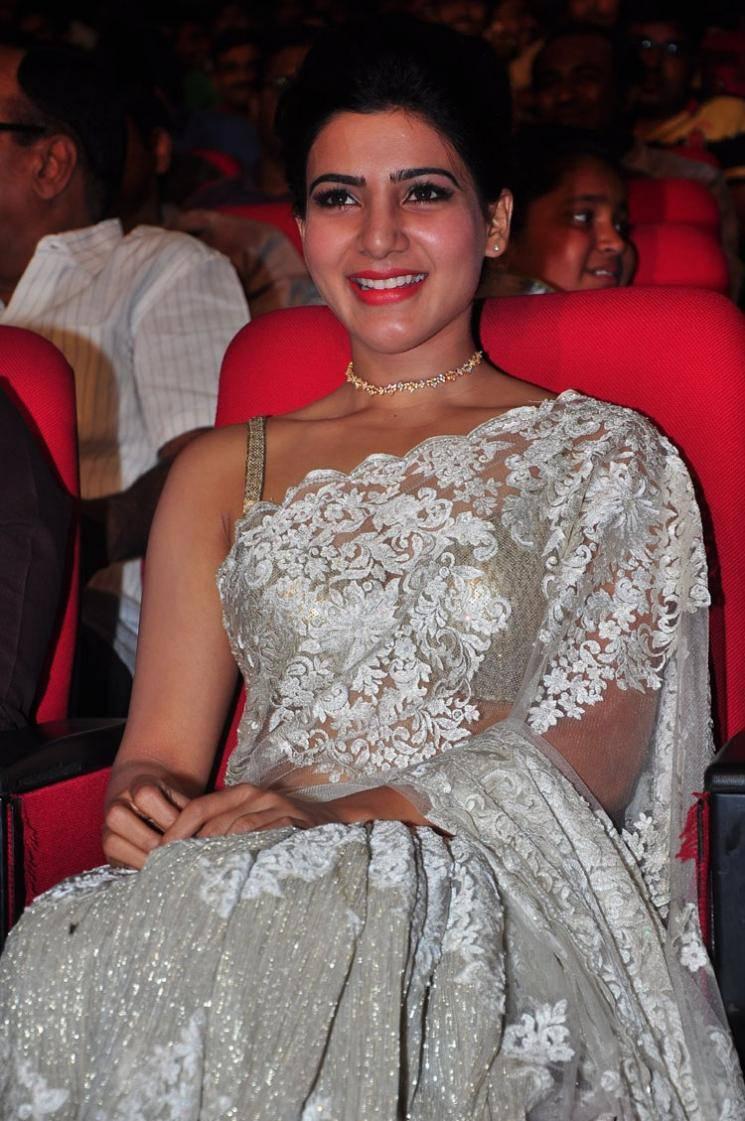 Acress Samantha at 24 Movie Audio Launch
