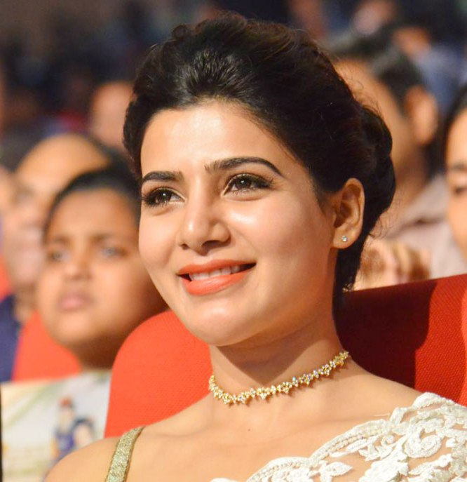 Acress Samantha at 24 Movie Audio Launch
