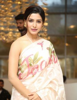 Samantha Akkineni Stills at Jaanu Thank You Meet
