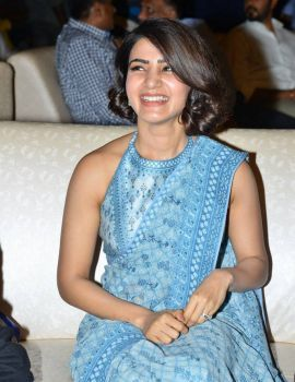 Samantha at Rangasthalam Vijayotsavam Success Celebrations