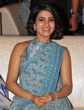 Samantha at Rangasthalam Vijayotsavam Success Celebrations