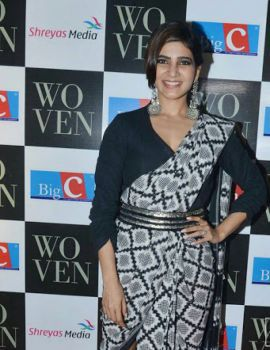 Samantha at Woven 2017 Fashion Show