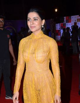 Samantha at Zee Cine Awards Telugu 2020