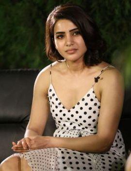 Samantha Interview Stills from Rangasthalam Movie