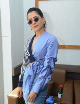 Samantha Launches Healthy Way Restaurant at Madhapur, Hyderabad