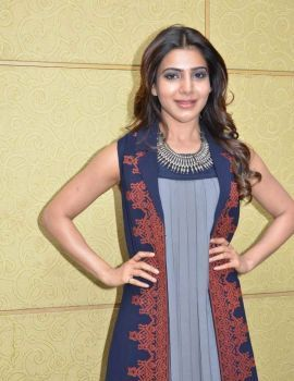 Samantha Photos at Nava Manmadhudu Movie Press Meet