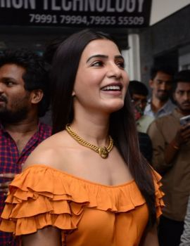 Samantha Stills at Azent Overseas Education Hyderabad Center Launch