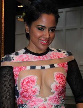 Sameera Reddy Hot Stills at Blenders Pride Fashion Tour