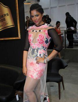 Sameera Reddy Hot Stills at Blenders Pride Fashion Tour