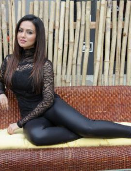 Contestant Sana Khan at the Khatron Ke Khiladi 6