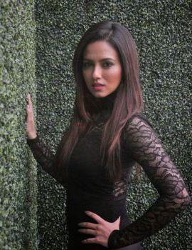 Contestant Sana Khan at the Khatron Ke Khiladi 6
