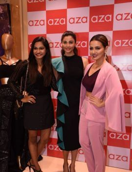Sana Khan at The Preview of Party Wear Collection By Esha Amin