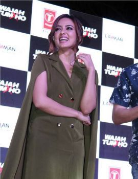 Sana Khan at Wajah Tum Ho Promotions at Lawman Pg3 Cup