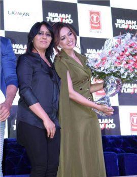 Sana Khan at Wajah Tum Ho Promotions at Lawman Pg3 Cup