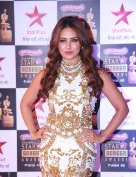 Sana Khan Photos at Star Screen Awards 2016