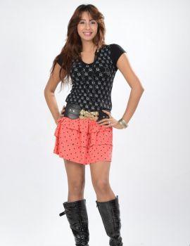 Sanjana Galrani Short Skirt Photoshoot Stills