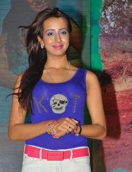 Sanjana Latest Stills at Park Audio Launch