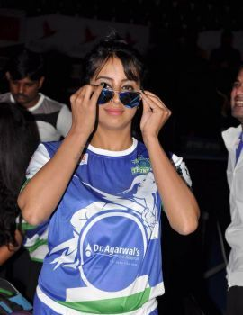 Sanjjanaa Stills at Celebrity Badminton League
