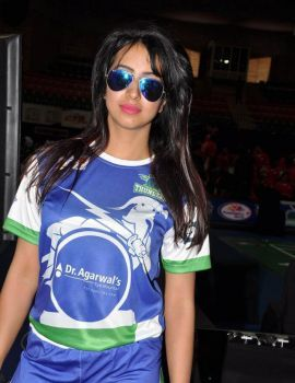 Sanjjanaa Stills at Celebrity Badminton League