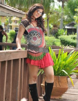 Disco Movie Actress Sarah Sharma Latest Photoshoot Stills