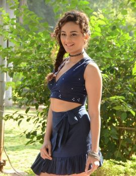 Seerat Kapoor at Okka Kshanam Teaser Launch