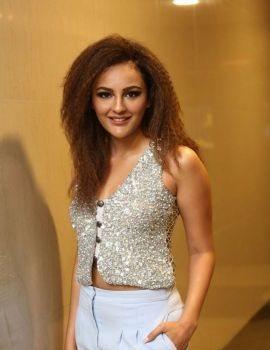 Seerat Kapoor at Touch Chesi Choodu Movie Pre Release Event