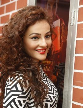 Seerat Kapoor Latest Stills at Tiger Movie Success Meet