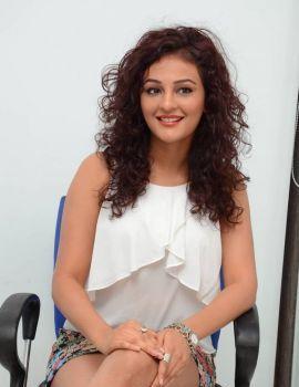 Telugu Actress Seerat Kapoor Stills at Columbus Movie Interview