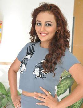 Telugu Heroine Seerat Kapoor Stills at Jadoogadu Promotion