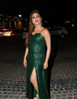Kannada Actress Sejal Mandavia Photos at 65th Jio Filmfare Awards (South) 2018 Function