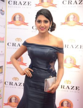 Shalu Chourasiya Pics at Dadasaheb Phalke Awards South 2019 Red Carpet