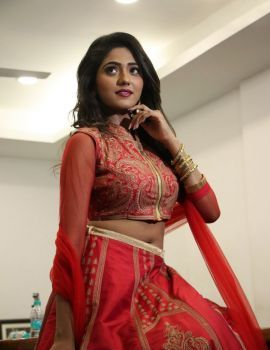 Shalu Chourasiya Stills at En Kadhali Scene Podra Movie Audio Launch