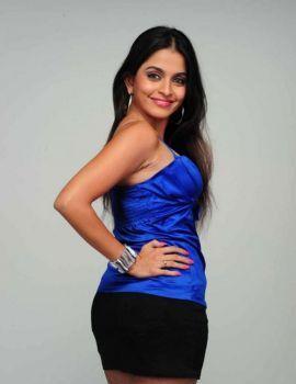 Sheena Shahabadi Latest Blue Dress Photoshoot Stills