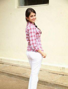 Sheena Shahabadi Stills at Love You Bangaram Press Meet