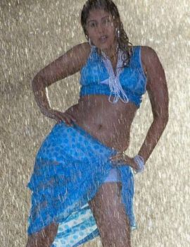 Telugu Actress Sheryl Pinto Hot and Wet