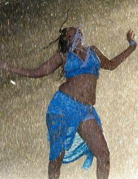 Telugu Actress Sheryl Pinto Hot and Wet
