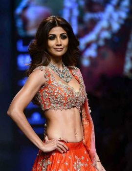 Shilpa Shetty at Lakme Fashion Week Winter 2016
