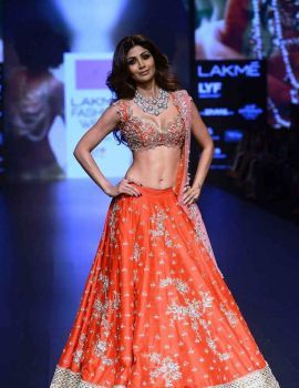 Shilpa Shetty at Lakme Fashion Week Winter 2016