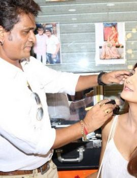 Shilpa Shetty at Shelar Make Up Academy Inauguration