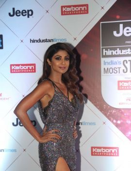 Shilpa Shetty at the Red Carpet Of Ht Most Stylish Awards 2018