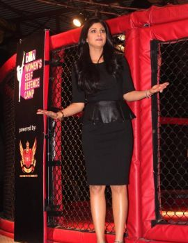 Shilpa Shetty at Women's Self Defence Camp