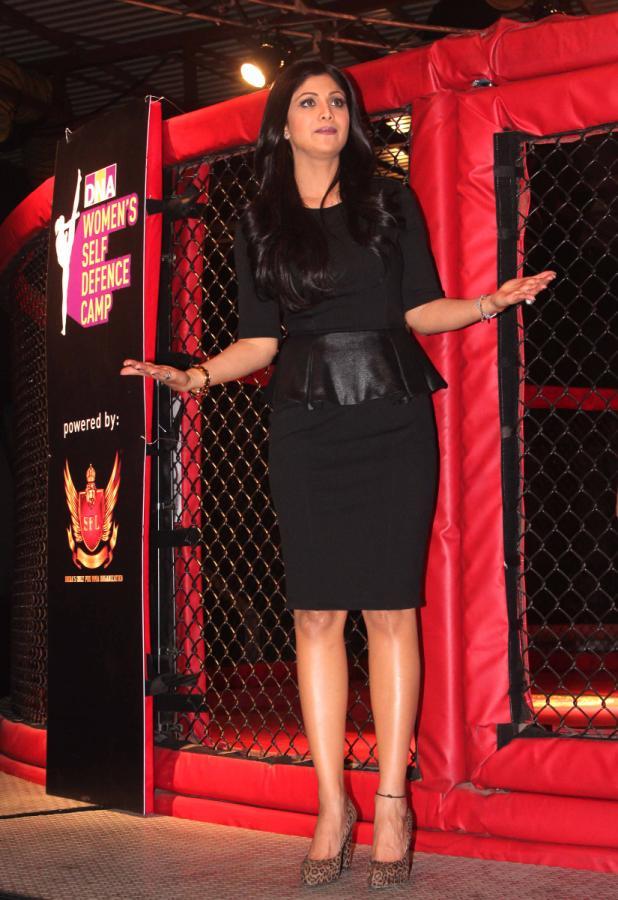 Shilpa Shetty at Women's Self Defence Camp