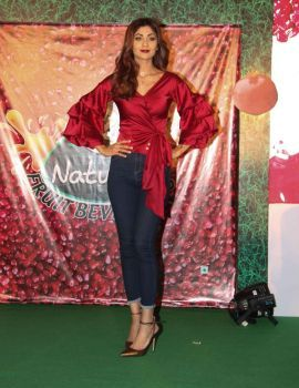 Shilpa Shetty Launches B Natural Juice in Mumbai