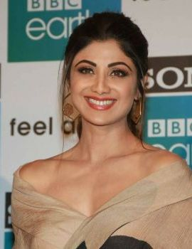 Shilpa Shetty Stills at Sony BBC Earth 1st Anniversary Celebrations