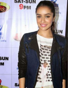 Bollywood actress Shraddha Kapoor at ABCD 2 movie promotion